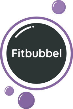 Fitbubbel - Logo - Shark Fit & Vitaal