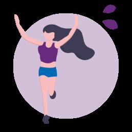 Lichamelijk fit icoon - Persoonlijke vitaliteit - Shark Fit & Vitaal