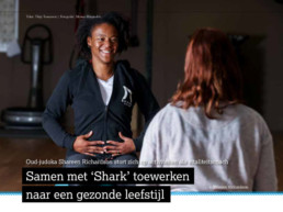 Samen met Shark toewerken naar een gezonde leefstijl - Shark Fit & Vitaal Amersfoort