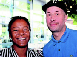 Zomerfeest OnderNamen Amersfoort - Shareen Richardson en Raymond van den Hoek
